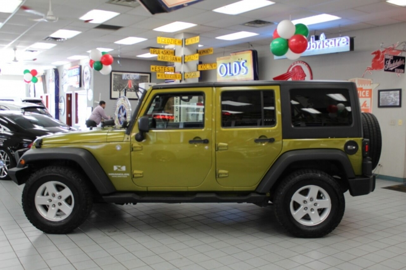 Jeep Wrangler Unlimited 2008 price $13,850