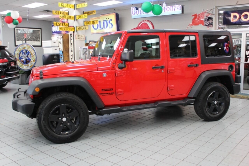 Jeep Wrangler Unlimited 2016 price $27,850