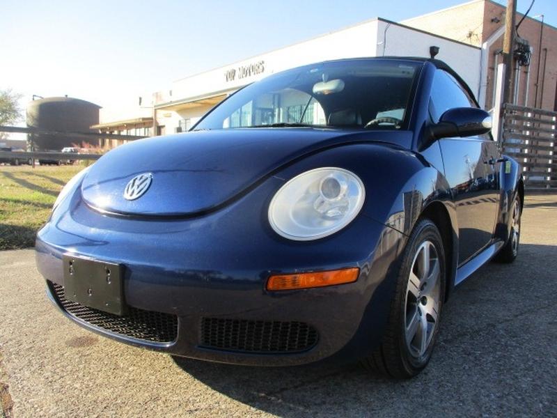 Volkswagen New Beetle Convertible 2006 price $6,495 Cash