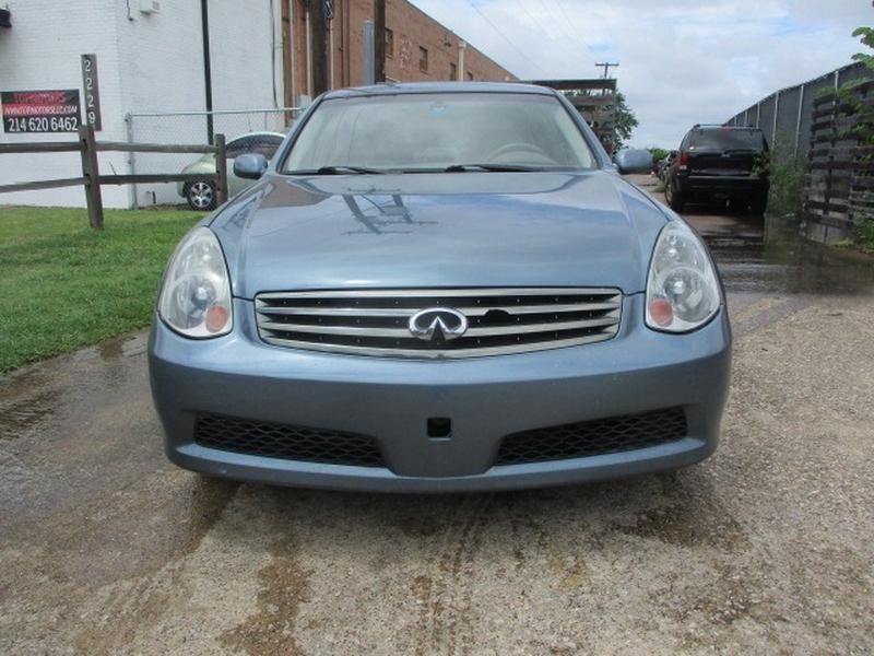 Infiniti G35 Sedan 2005 price $6,495 Cash
