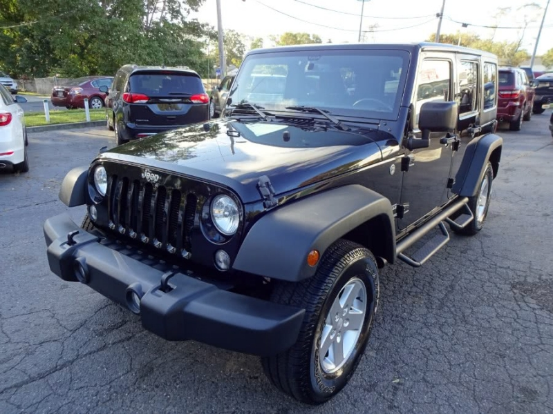 Jeep Wrangler Unlimited 2016 price $28,900