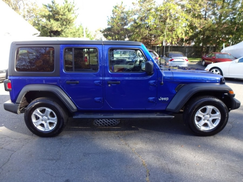 Jeep Wrangler Unlimited 2018 price $33,900