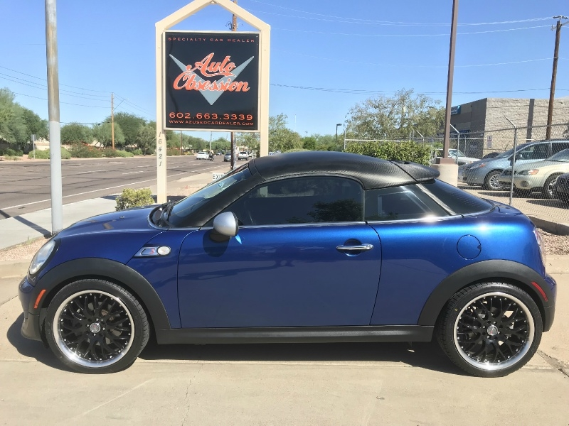 Mini Cooper Coupe 2013 price $13,970