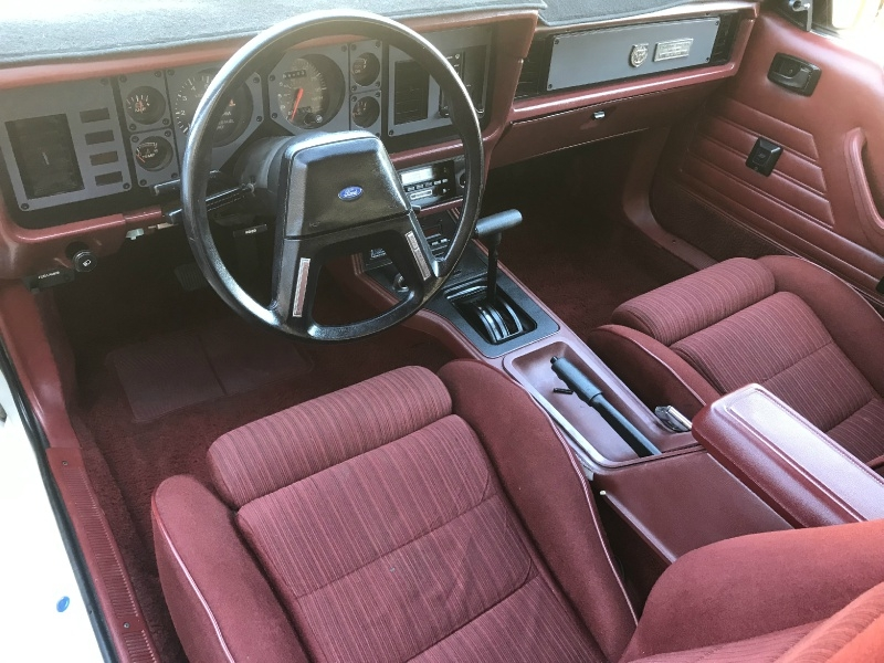 Ford Mustang 1984 price $11,995
