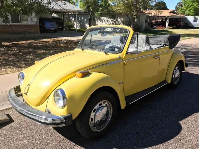 Volkswagen Beetle 1974 price $9,995