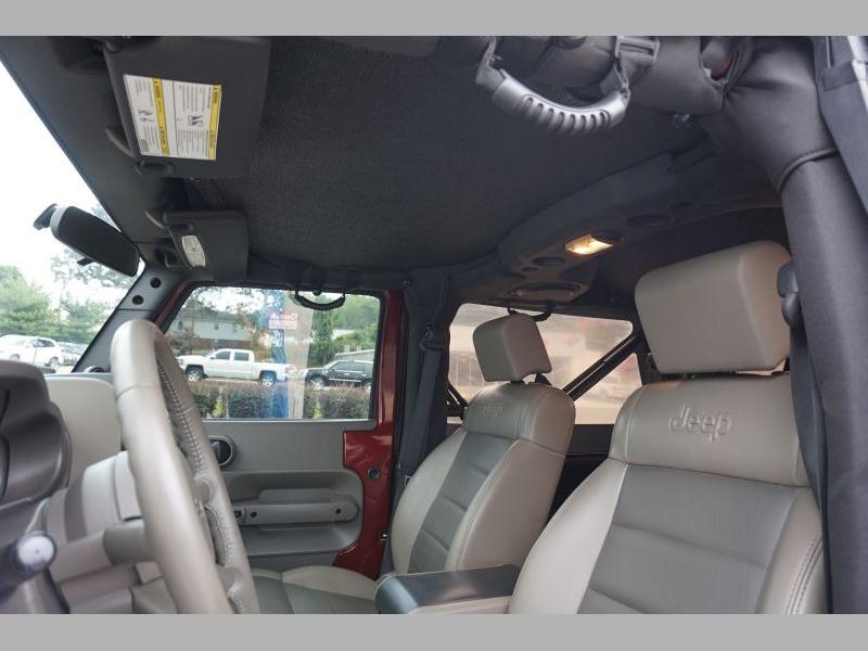 Jeep Wrangler 2010 price $21,991