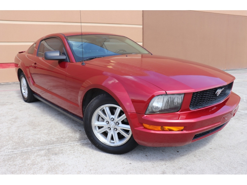 Ford Mustang 2007 price $6,900