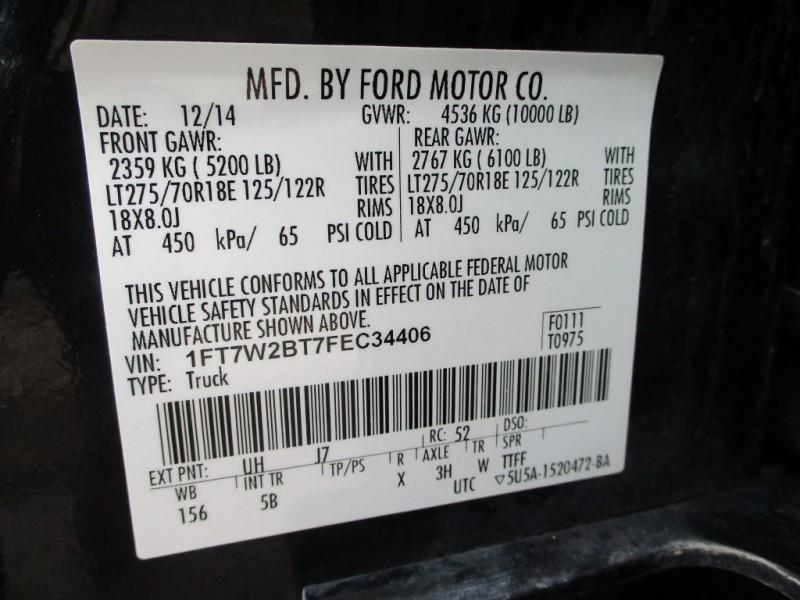 FORD F250 LARIAT 2015 price $44,650