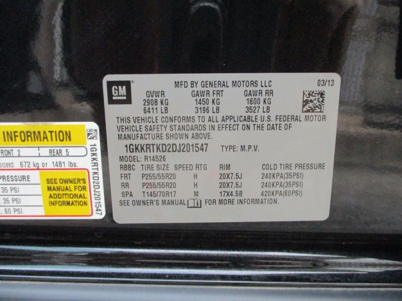 GMC ACADIA 2013 price $16,150