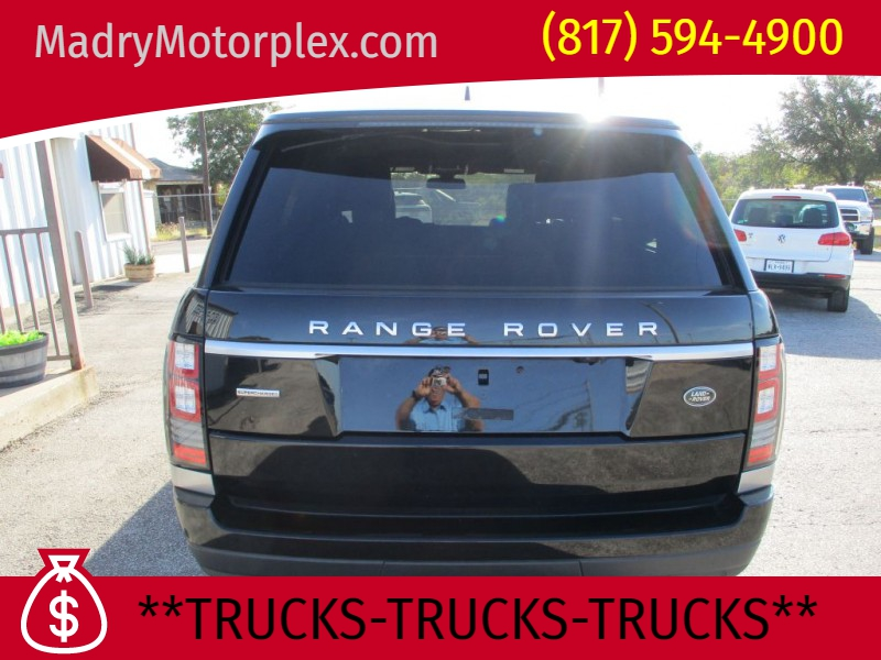 LAND ROVER RANGE ROVER 2016 price $51,950