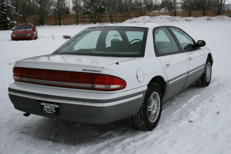 Chrysler Concorde 1993 price $1,850