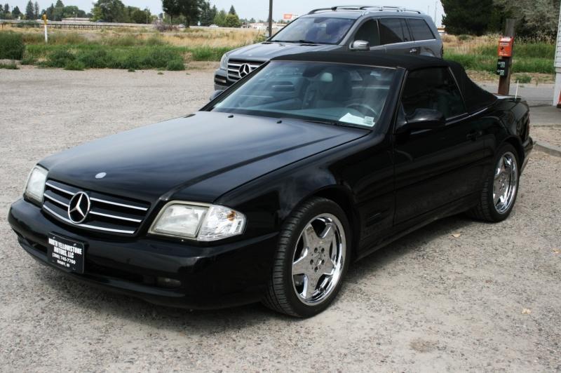 Mercedes-Benz SL-Class 2001 price $7,999