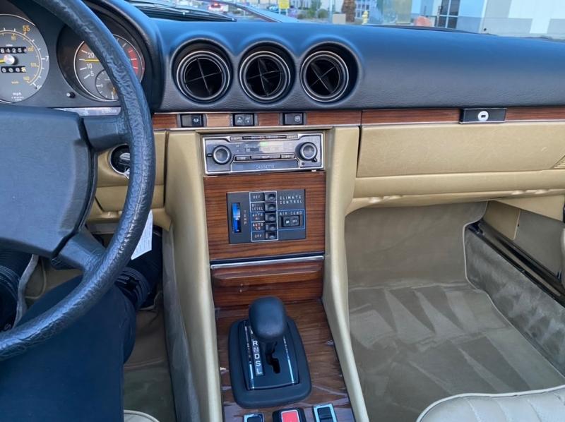 Mercedes-Benz SL 450 1980 price $9,900