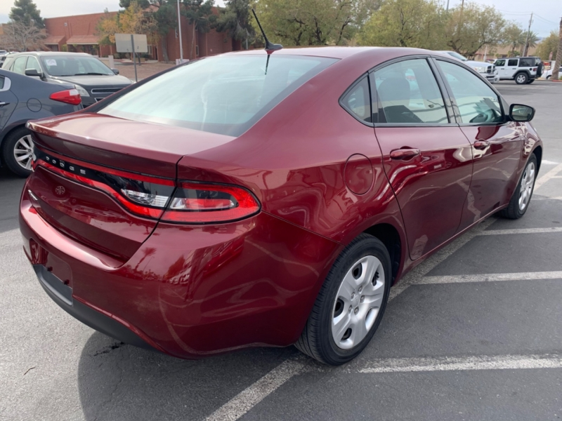 Dodge Dart 2015 price $5,900