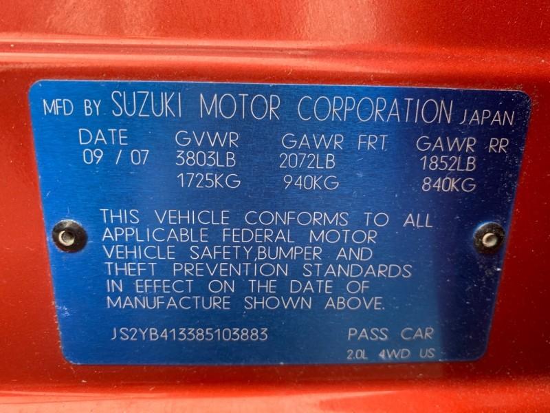 SUZUKI SX4 2008 price $3,900