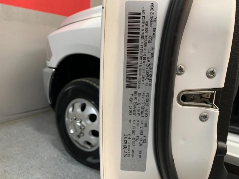 RAM 3500 2018 price $39,995