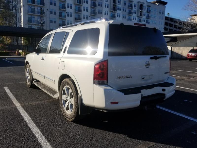 Nissan Armada 2013 price $0