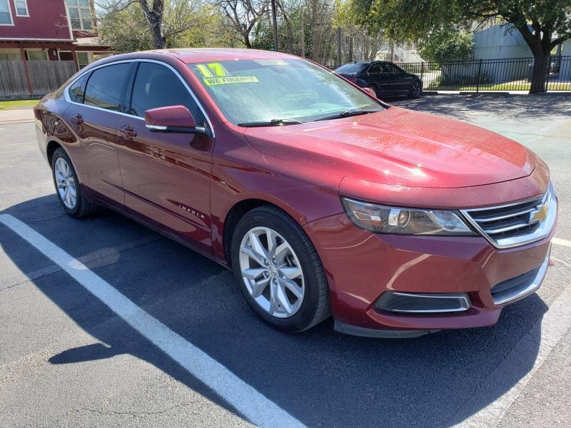 Chevrolet Impala 2017 price $0