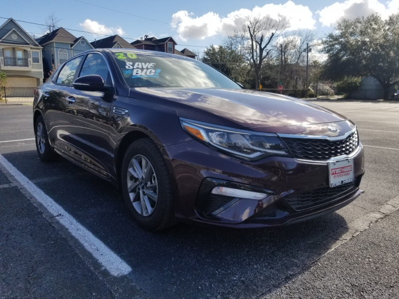 Kia Optima 2020 price $0
