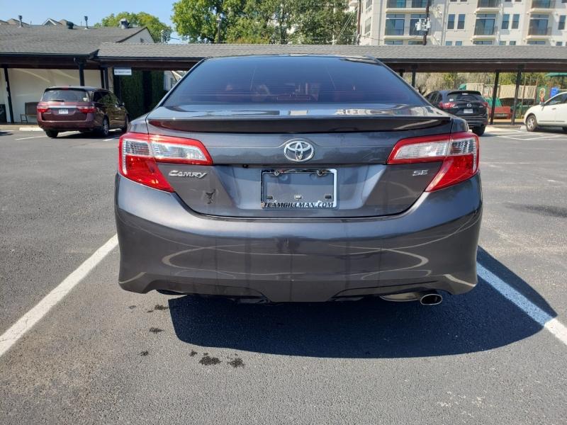 Toyota Camry SE 2014 price $0
