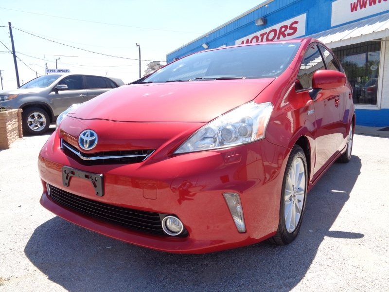 Toyota Prius v 2012 price $8,297