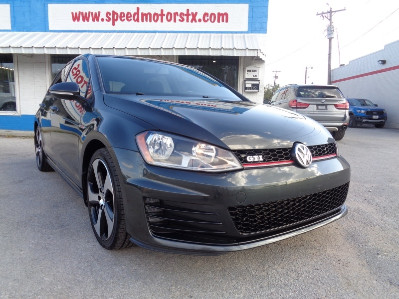 Volkswagen Golf GTI 2017 price $17,797
