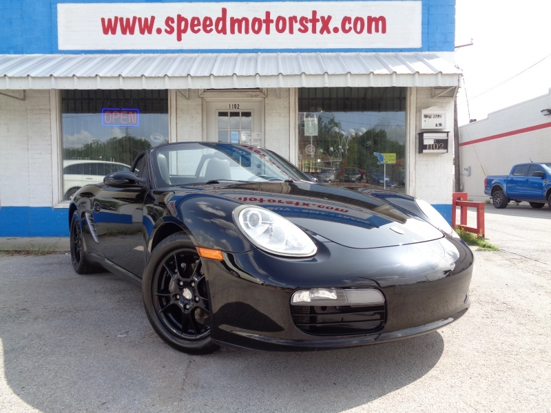 Porsche Boxster 2007 price $13,797