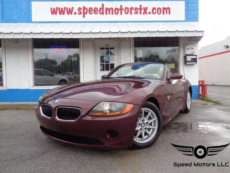 BMW Z4 2004 price $10,497