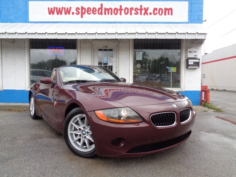BMW Z4 2004 price $10,297