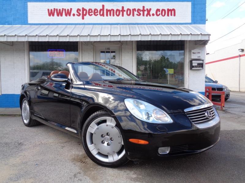 Lexus SC 430 2005 price $15,997