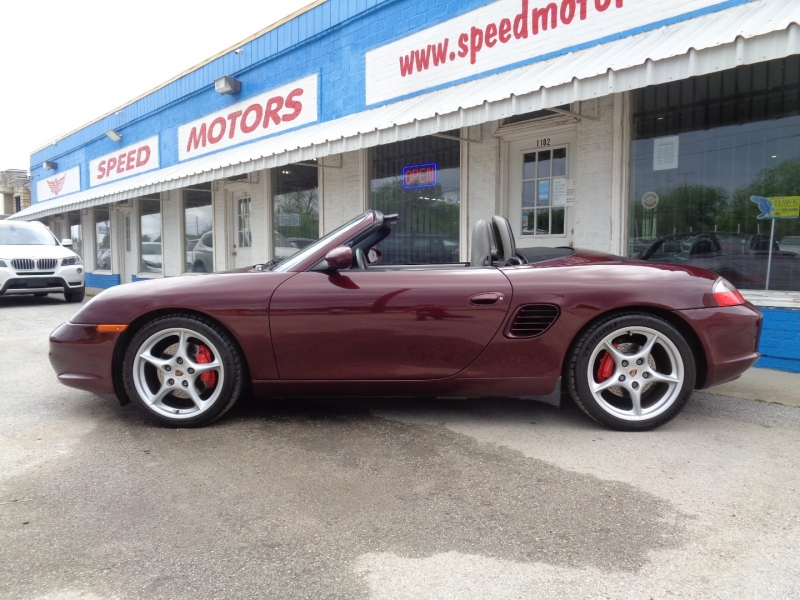 Porsche Boxster 2004 price $19,997