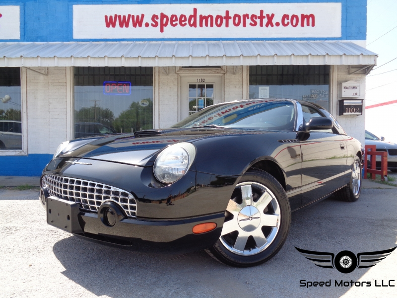 Ford Thunderbird 2002 price $16,497