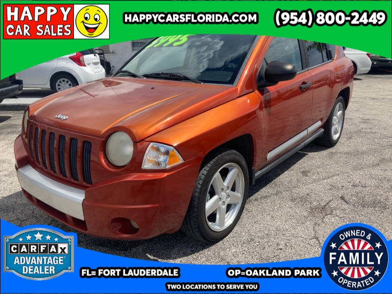 2008 Jeep Compass FWD 4dr Limited