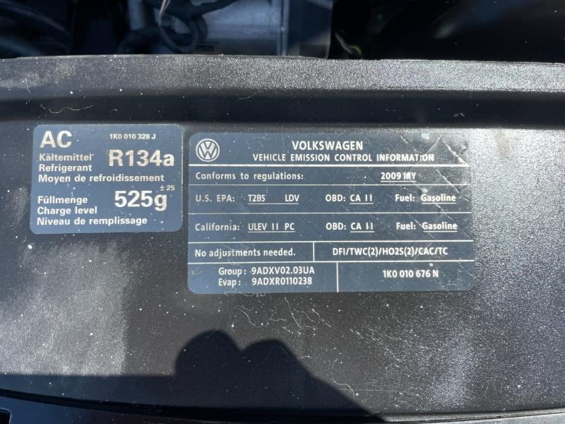 Volkswagen Eos 2009 price $6,991