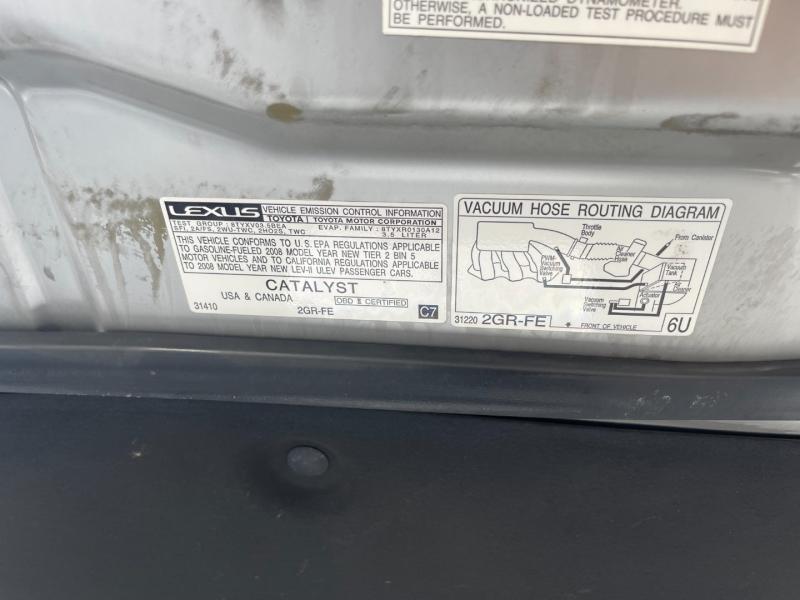 Lexus ES 350 2008 price $8,491