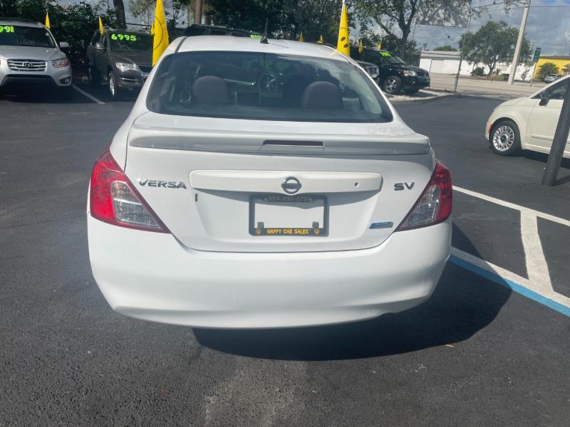 Nissan Versa 2013 price $6,491