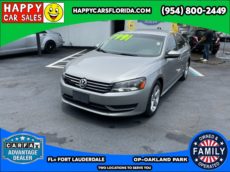 Volkswagen Passat 2012 price $6,991