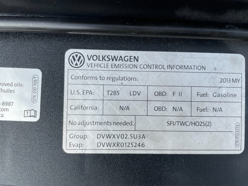 Volkswagen Passat 2013 price $7,491