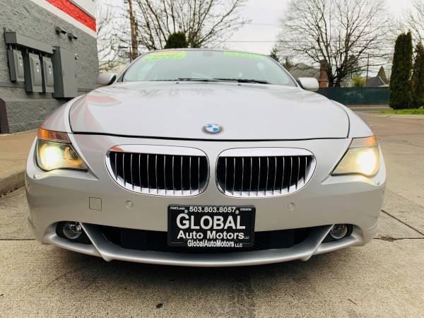 BMW 6-Series 2006 price $12,800