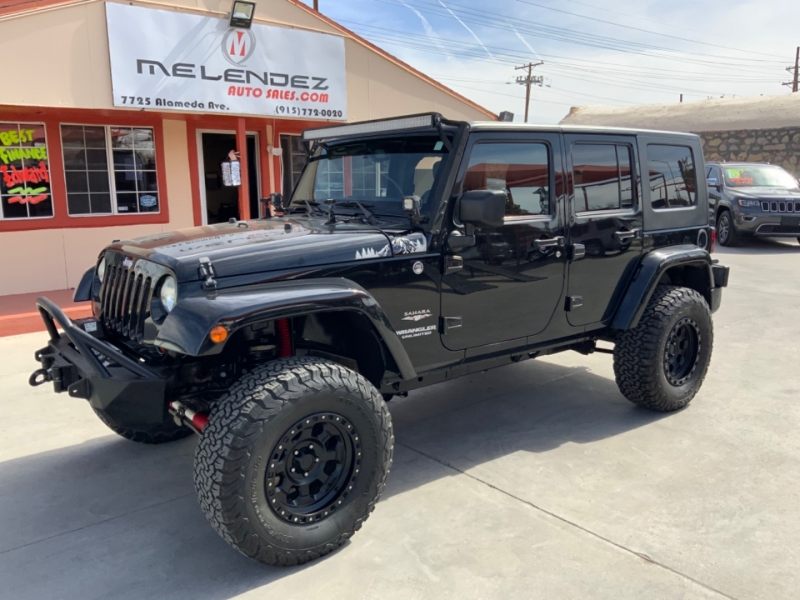 Jeep Wrangler Unlimited 2013 price $27,995