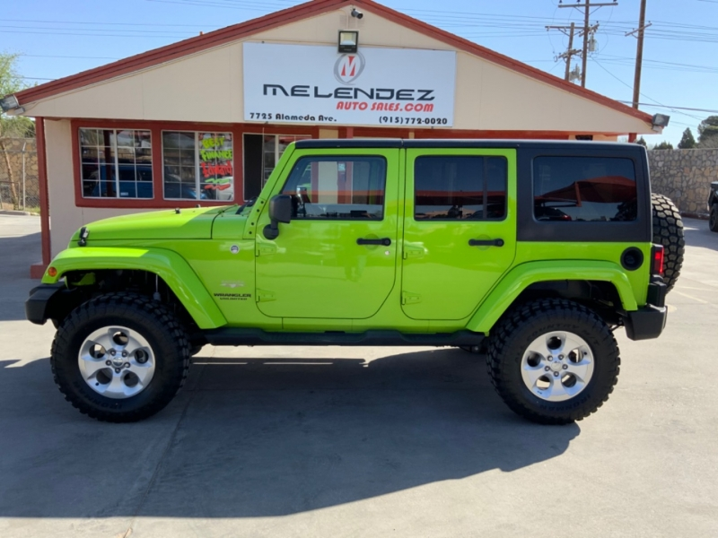 Jeep Wrangler Unlimited 2013 price $32,995