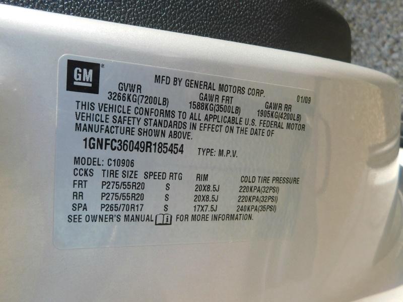 Chevrolet Suburban 2009 price $3,500 Down