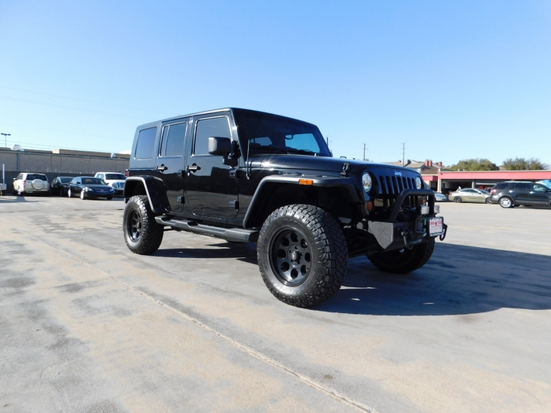 Jeep Wrangler Unlimited 2009 price $4,500 Down