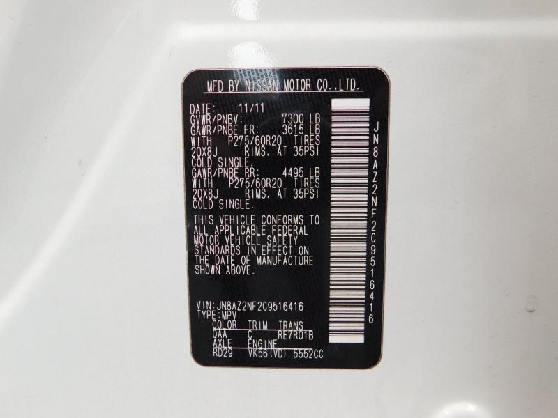 Infiniti QX56 2012 price $6,000 Down