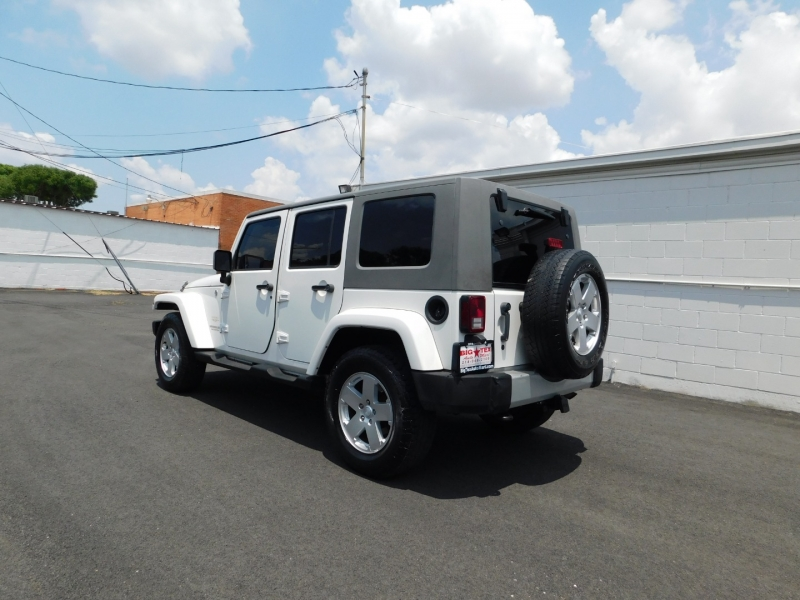 Jeep Wrangler Unlimited 2010 price $4,500 Down