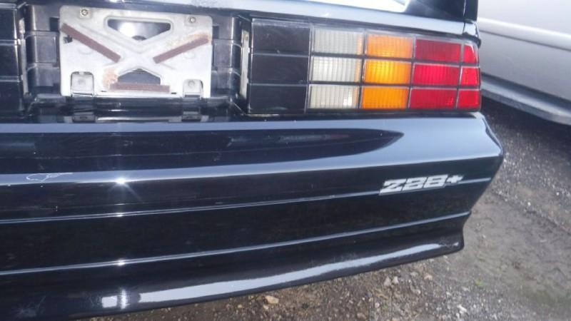 Chevrolet Camaro Z28 1991 price SOLD
