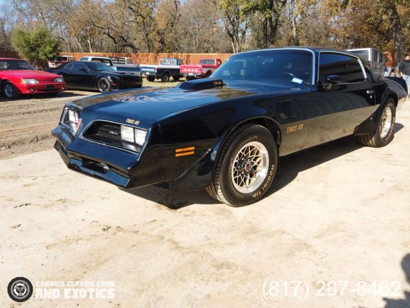 Pontiac Firebird Trans Am 1978 price $38,000