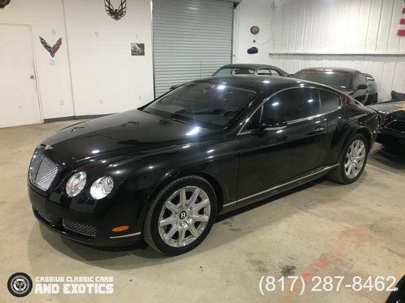 Bentley Continental GT 2005 price SOLD