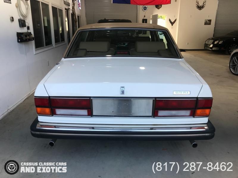 Rolls-Royce Silver Spur 1988 price $19,995