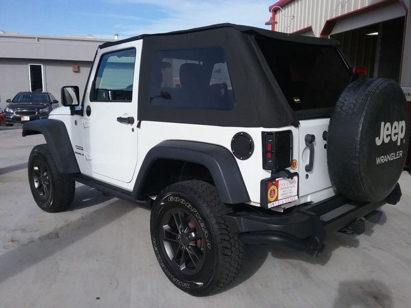 Jeep Wrangler 2016 price $24,999